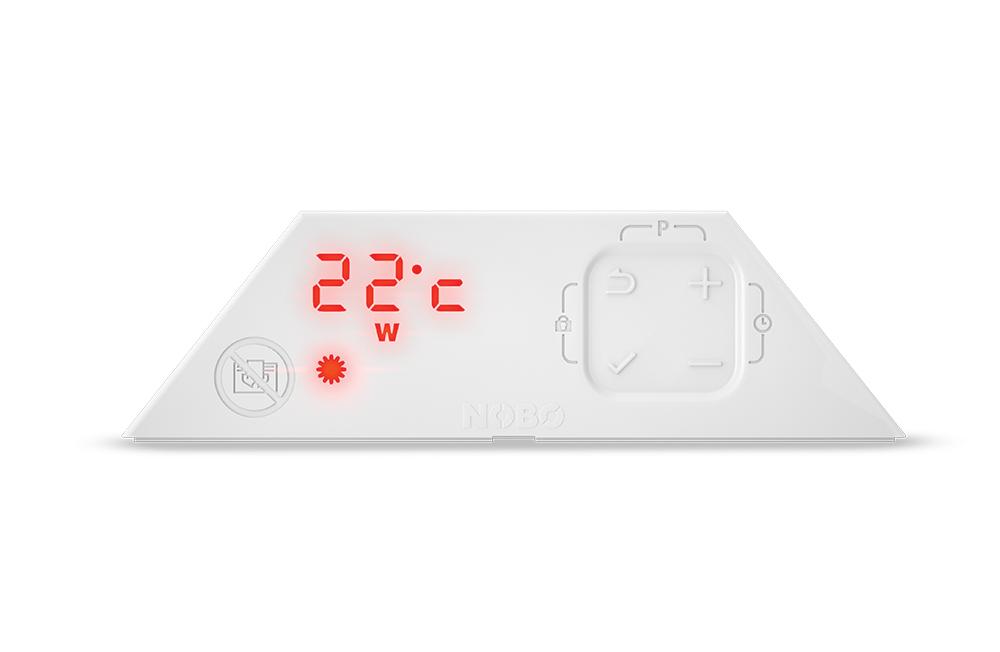 digital thermostat NOBO NCU-2T με 9 προγράμματα λειτουργίας